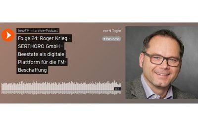 Beestate im InnoFM Podcast: Prof. Thomzik im Interview mit Roger Krieg